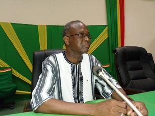 Al Edir Diallo, directeur de cabinet du ministère de la Fonction publique, du Travail et de la Protection sociale,