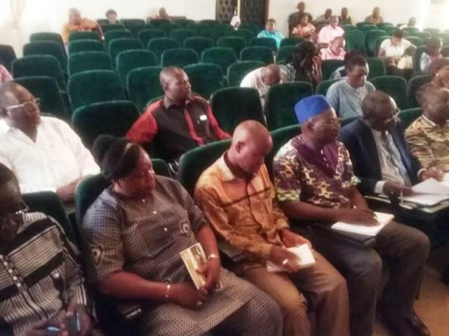 Les collaborateurs du ministre Jacob Ouédraogo