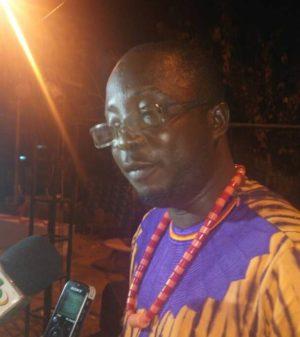Le DG de l'agence pixxelis M. Ben Moussa Bondaoné