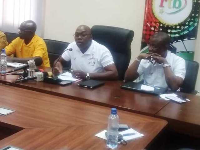 Les journalistes au cours de la conférence de presse