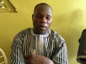 Ibrahim Ouedraogo alias Akim, President de la COSSAC-BF