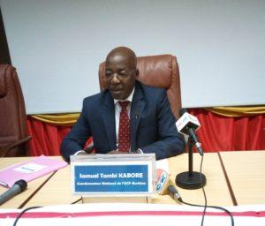 Le coordonnateur national, Samuel Tambi Kaboré
