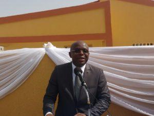 Le Ministre Remis Fulgance Djandjinou