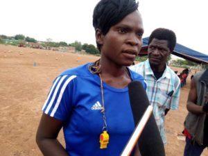 Pascaline Sana: la Coach de football féminin et masculin