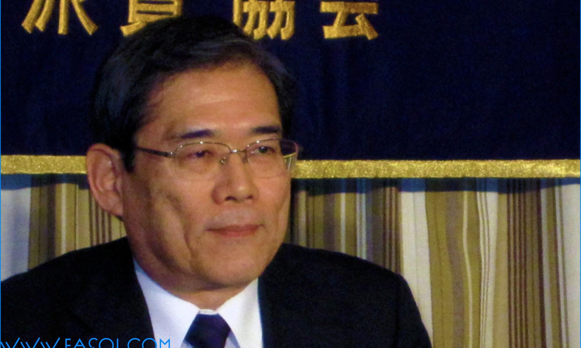 Junichi Hamada, President of Tokyo University