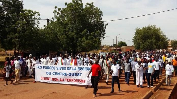 Marche- Soutien- FDS- Centre- Ouest - Burkina