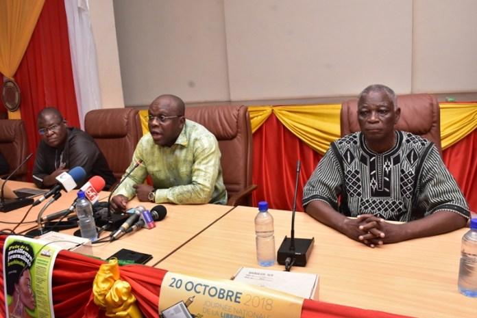 Journée - La- Presse - 20 ooctobre- Burkina- Faso