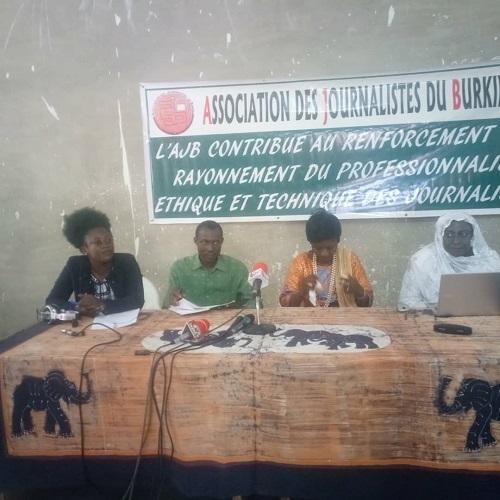 Lutte –contre- l'insécurité - l'AJB- renforce –les- capacités –des- femmes -journalistes