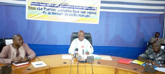 Cadre -de –concertation- du- premier- ministère- Dabiré –fait- son –premier- bilan
