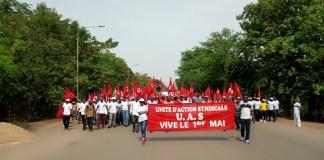 Fête –du- Travail –à- Bobo-Dioulasso- L'Union- d'Action- Syndicale- parle –des- dossiers- qui- fâchent