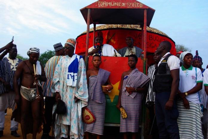 Le Chef coutumier de Sirugou, village du Ghana a salué les initiateurs de ce festival