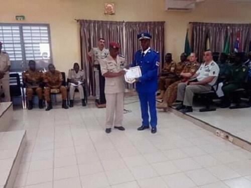 CT1 APC -19- stagiaires – ont- reçu –leurs- parchemins