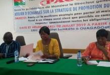 Promotion -du –civisme- fiscal-les –acteurs- échangent- à- Ouagadougou