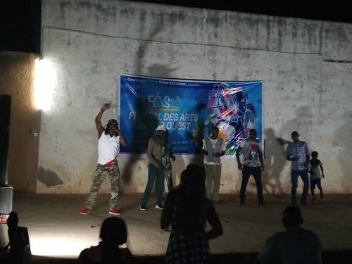 deuxième édition du festival des Arts du Sud-ouest à Diébougou.