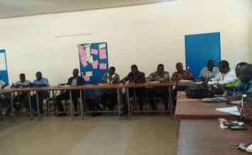 5e Recensement Général de la Population et de l'habitat, le Haut Commissaire de la province de la Bougouriba organise une rencontre de concertation.