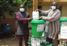 Covid -19 – Des- kits- d-hygiène –offerts- aux –formations- sanitaires- du- Zoundwéogo