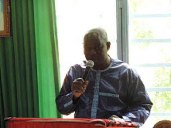 Secrétariat-général-du-Centre-sud - Abdoulaye -Bassinga -aux -commandes