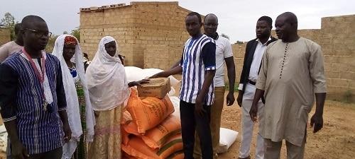 Ouagadougou-l-UDP -au -secours -des –déplacés- internes- de- Sakoula