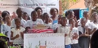 Bibliothèque- Kiougou -Gabriel –Nakoulma- 13 –ans- au –service- des- enfants