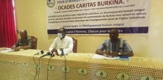 Redevabilité- OCADES -Caritas -Burkina -fait -le –bilan- de -ses -réalisations -de -2019