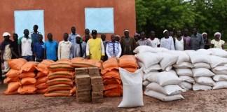 Inondations- à –Ténado-le –ministre- Bassiere- aux –côtés- des -sinistrés