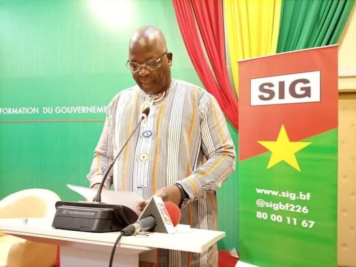 Modification -du –code- électoral – le- ministre- Siméon- Sawadogo -explique