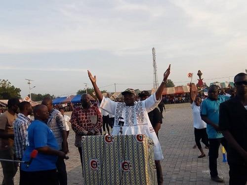 Présidentielle –du- 22- novembre –Eddie- promet- bitumer- le- tronçon- Gaoua-Batié