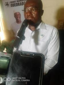 Présidentielle- de -2020 -l'ADF-RDA –à- la- rencontre –de- ses- militants -à -Diébougou