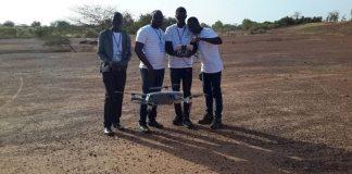 Techniques –de- pilotage- de- drone- Drone –Tech- Africa outille- des -participants