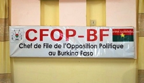 OPPOSITION-BURKINABE