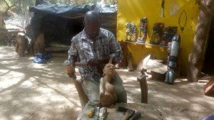 Sculpture-« -la –valeur- cardinale- de- l-objet –d-art- réside- dans- sa- capacité- expressive- » , Ibrahim -KOUYATE