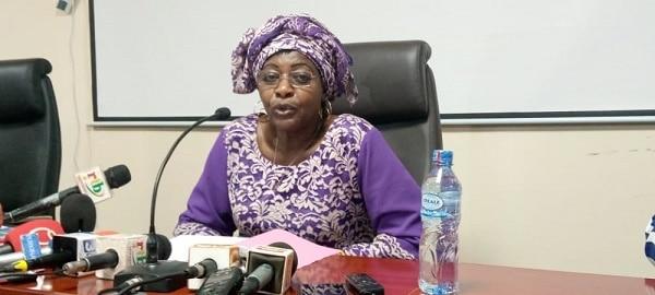 la présidente de l'Autorité de régulation du secteur de l'énergie Mariam Nikiema
