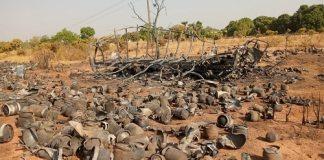 Société-une –explosion- de –gaz- butane- crée- la- panique- dans- la- commune- de- Beregadougou