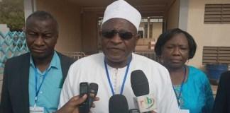 International- des -parents -d'élèves - le burkinabè- Hector A.R.K- Ouédraogo- élu- président