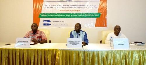 Contrôle -citoyen –des- politiques- publiques -le -projet –de- loi -de -finance -rectificative -passé -à –la- loupe- par- le- SPONG