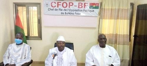 Politique -Pr -Stanislas –Ouaro- reçu –en- audience- par- le -chef -de –file- de- l'opposition