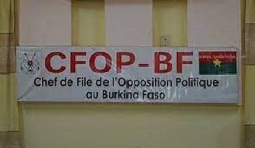 Déclaration- liminaire -du –CFOP- la -brouille -à -la -CENI
