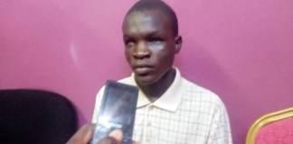 Etre- handicapé –ne- veut- pas –dire- de –mendier-Sié- Aristide -Kambou -élève handicapé