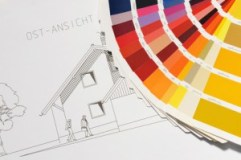 Farbauswahl - Fasadengestaltung