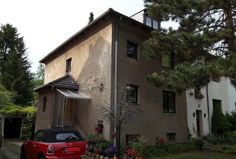 Fassade vorher - ohne Sanierung