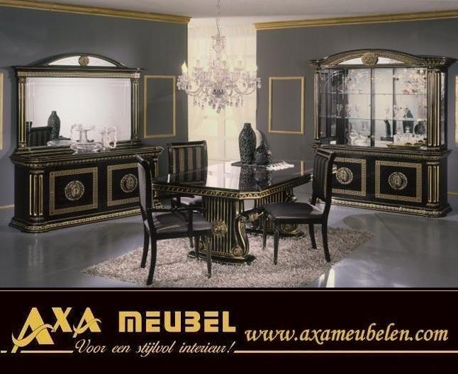 italienische luxus wohnzimmer goccia gold AXA Mbel