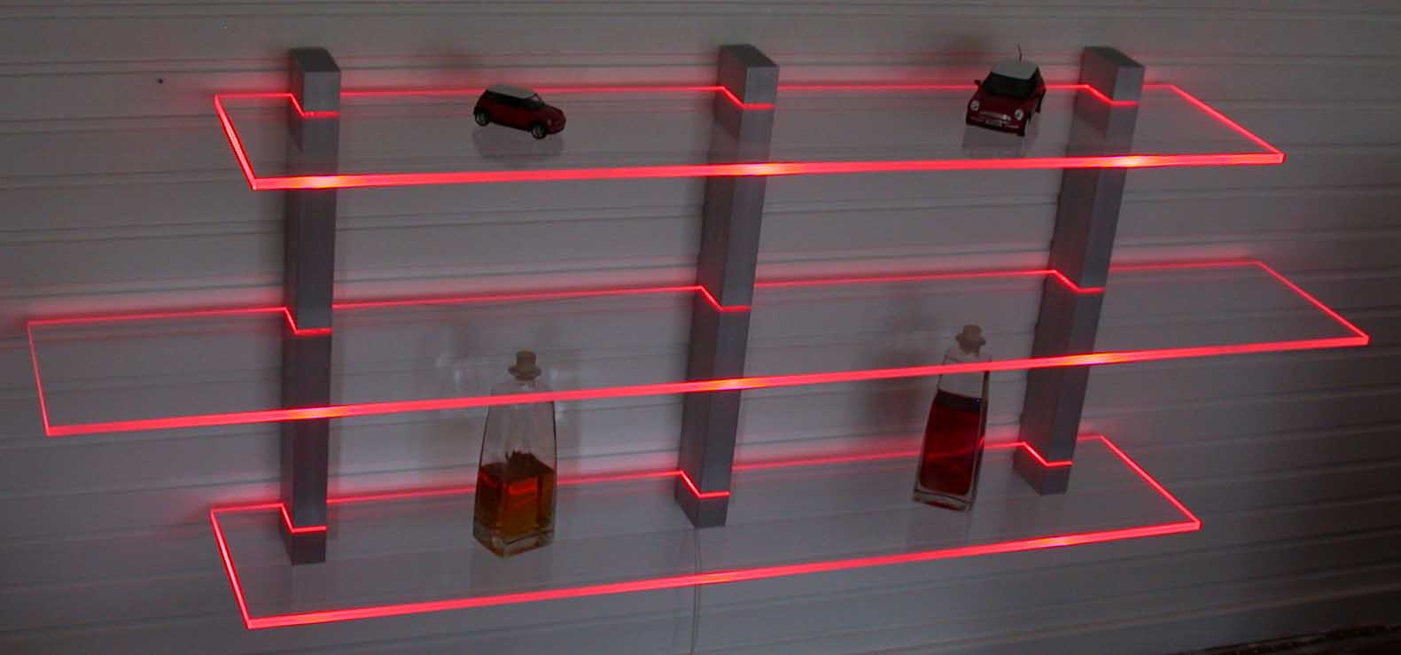 Bar Regal LED beleuchtet ideal fr Flaschen oder Glser in Wermelskirchen  Mbel und Haushalt