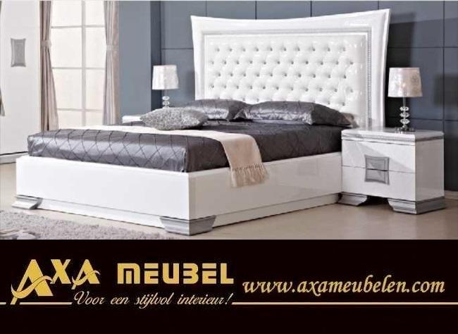 schlafzimmer komplett Wei hochglanz gnstig kaufen AXA Mbel in 2512cm  Mbel und Haushalt