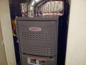 Furnace Installation UpFlow