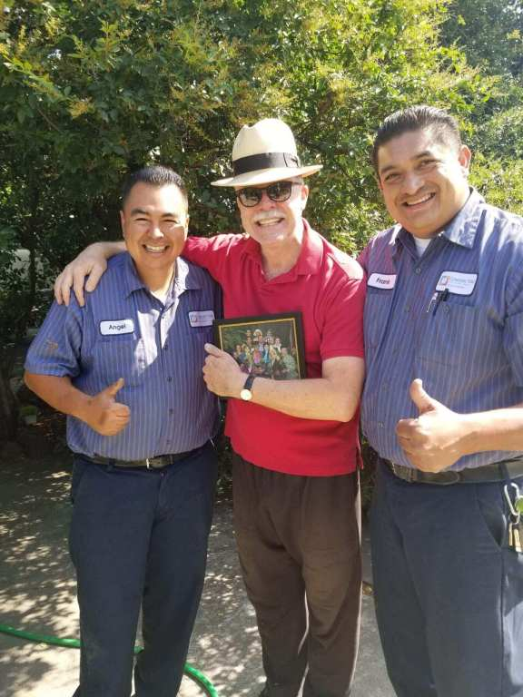 Happy Customer with Angel and Eduardo