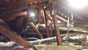 Attic Ductwork Replacement