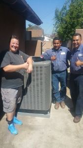 New Air Conditioning Installation Happy Customer