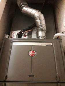 Closet Furnace replacement