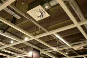 Ceiling with Ductwork and Vents