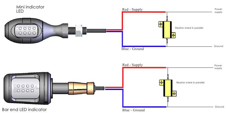 wiring diagram for motorcycle led indicators 91 honda civic manual e books